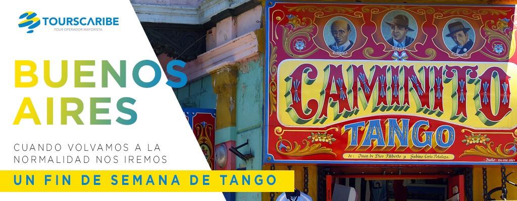 Fin de semana de tango en buenos aires